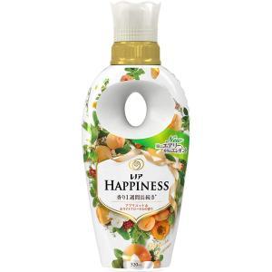 レノア ハピネス 柔軟剤 ナチュラルフレグランスシリーズ アプリコット&ホワイトフローラルの香り 本体 520mL eh-style