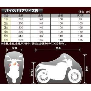 平山産業 バイクカバー バイクバリアー NO.1 ロードスポーツ|eh-style