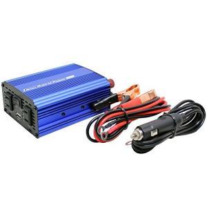 メルテック インバーター 2way(USB&コンセント) DC12V コンセント2口(120W/300W) USB1口2.4A 静音タイプ|eh-style