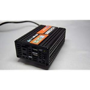 メルテック インバーター 2way(USB&コンセント) DC12V コンセント1口120W USB2口2.1A Meltec HPU-15|eh-style