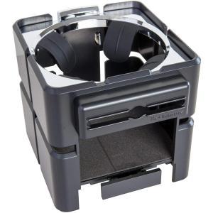 カシムラ ブロック ドリンクホルダー II ブラック×メッキ NAK-192|eh-style