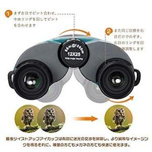 2019年最新版 12倍ポロ式 UncleHu 双眼鏡 オペラグラス コンパクト 12×25 ライブ ブレない 目が疲れにくい めがね対応|eh-style