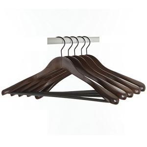 高級木製 型崩れしない Hanger 木製男性用 スーツハンガー コートハンガー ジャケットハンガー 木製5本組 DOREIS eh-style