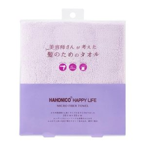 ハホニコ ヘアドライマイクロファイバータオル パープルの商品画像|ナビ