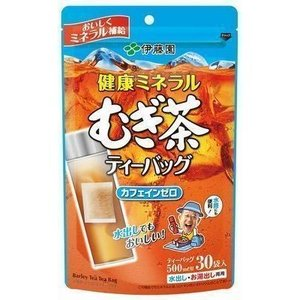 伊藤園 健康ミネラルむぎ茶 ティーバッグ 30袋