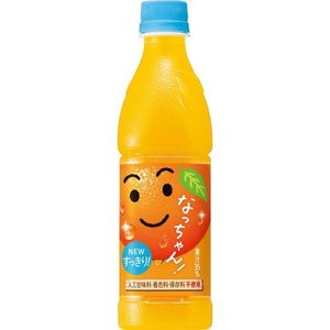 サントリー なっちゃん オレンジ 425ML×24個セット|ehac