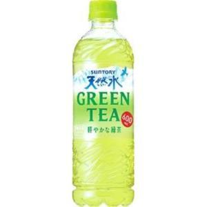 【ケース販売】サントリー 天然水グリーンティー 600ML×24個セット|ehac