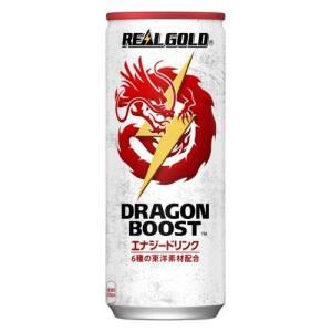 コカ・コーラ リアルゴールド ドラゴンブースト 250ml缶 1セット(6缶)の商品画像|ナビ