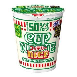 【ケース販売】日清食品 カップヌードル コッテリーナイス キムチ豚骨 58G×12個セット|ehac