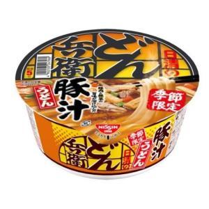 日清食品 日清のどん兵衛 豚汁うどん 12個の商品画像 ナビ