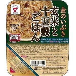 【セット販売】たいまつ 金のいぶき玄米と十五穀ごはん 160GX6個セット
