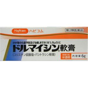 【第2類医薬品】ドルマイシン軟膏 6G|ehac