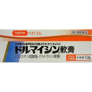 【第2類医薬品】ドルマイシン軟膏 12G|ehac