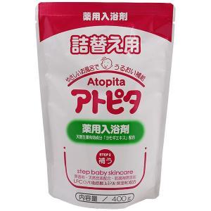 丹平製薬 アトピタ 薬用入浴剤 詰替 400G