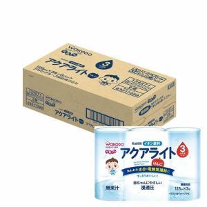 アサヒグループ食品 和光堂 元気っち アクアライト りんご 125ML×3本パック 6個セット ベビ...