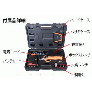 【送料込】ニシガキ 充電式剪定鋏 太丸ハンディ25 (バッテリー・充電器付き) N-928 |ehanshinys|06