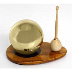 ◆リン&リン台&リン棒◆たまゆらりん1.8寸 セット(桑色)《家具調仏具・モダン仏具》|eharabutsugu
