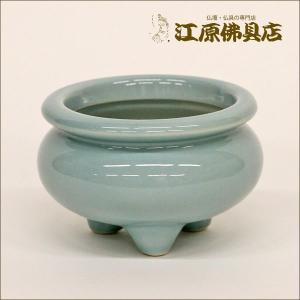 青磁 線香立 2.0 仏具|eharabutsugu