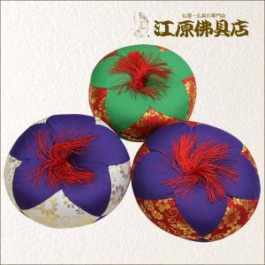 リン布団 都(緑×赤/紫×赤/紫×白)3号《家具調仏具・モダン仏具》|eharabutsugu