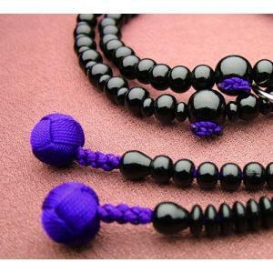 『ゆうパケットOK』黒檀 共仕立浄土宗 女性用 本式念珠 数珠|eharabutsugu
