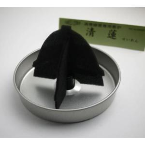 渦巻線香専用香炉 玉初堂 清蓮(金属製)断熱支持板付『あすつく対応』|eharabutsugu