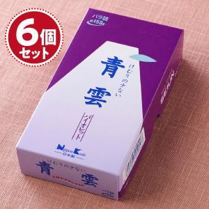 お香 線香 日本香堂 青雲バイオレット(小) 約155g入 ♯219×5個セット『あすつく対応』