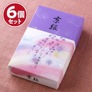 お香 線香 松栄堂 京桜(大)×5個セット『あすつく対応』|eharabutsugu