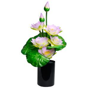 グランドルミナスラージ ハスの華 1つモダン小型灯 盆提灯 ちょうちん eharabutsugu