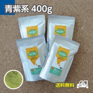 インディゴ(木藍)400gセット≪ヘアキャップ,手袋,取説付≫【送料無料】