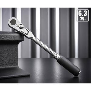 コーケンZ-ealの差込角6.35mm、首振りラチェットハンドル(ロング)です。   ■型式:272...
