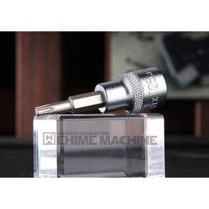TONE トネ 9.5sq. トルクスソケット (強力タイプ) 3TX-T25|ehimemachine