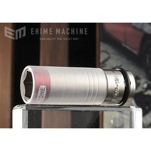 TONE トネ 12.7sq. プロテクター付 インパクト用薄型ホイルナットソケット 4AP-19N|ehimemachine