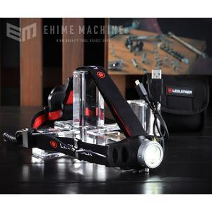 LEDLENSER 充電式LEDヘッドライト 200lm レッドレンザー H6R 7296-R|ehimemachine