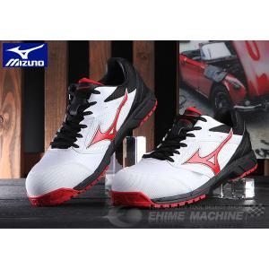 ミズノ 安全靴 オールマイティ LS 紐タイプ C1GA170001 ワーキングシューズ|ehimemachine