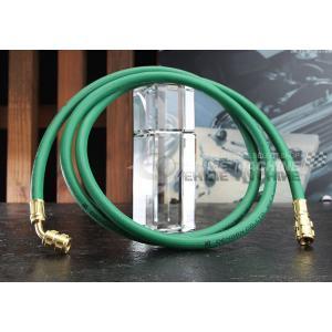 DENGEN HFC-134a専用チャージングホース(緑/ガス用) CPH1600FG-SL|ehimemachine