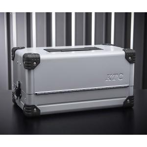 在庫有 KTC 両開きメタルケース メタリックシルバー EK-10A 工具箱|ehimemachine
