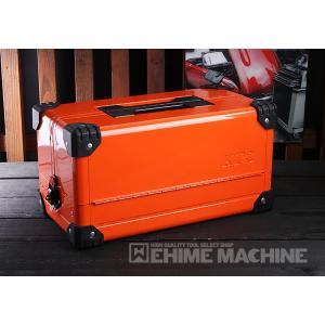 在庫有 KTC 両開きメタルケース ブライトオレンジ EK-10ABR 工具箱|ehimemachine