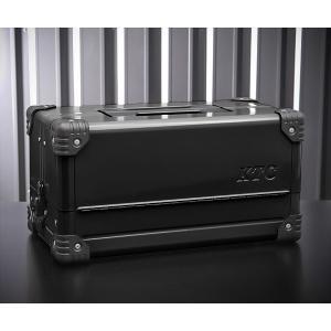 在庫有 KTC 両開きメタルケース ブラック EK-10AGBK 工具箱|ehimemachine
