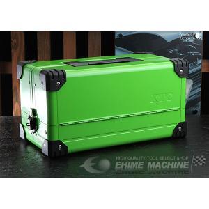 在庫有 KTC 両開きメタルケース グリーン EK-10AGR2 工具箱|ehimemachine