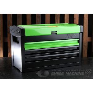 【10月の特価品】 KTC ツールチェスト EKR-103GR2 グリーン×ブラック ツールケース 工具箱|ehimemachine