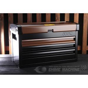 【10月の特価品】 KTC ツールチェスト EKR-103LBW ランドブラウン×ブラック ツールケース 工具箱|ehimemachine