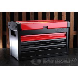 【10月の特価品】 KTC ツールチェスト EKR-103R2 レッド×ブラック ツールケース 工具箱|ehimemachine