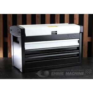 【10月の特価品】 KTC ツールチェスト EKR-103WH ホワイト×ブラック ツールケース 工具箱|ehimemachine