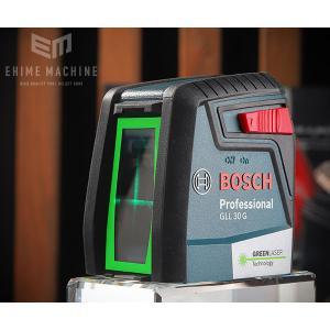 [新製品] BOSCH クロスラインレーザー(グリーンレーザー) GLL 30G ボッシュ|ehimemachine