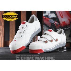 DIADORA ディアドラ 安全靴 IBIS アイビス スニーカー安全靴 ホワイト IB-11 ehimemachine