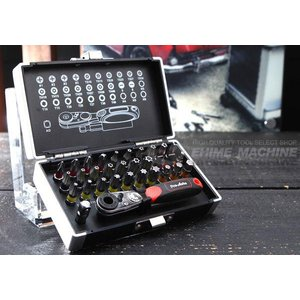 超ミニサイズ!マイクロビットラチェットセット!  ◆収納ケースにもこだわり いろいろなビットをセット...