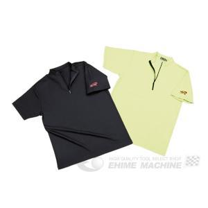 【7月の特価品】 nepros ネプロス ZIP UP 半袖Tシャツ NYG-24|ehimemachine