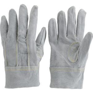 TRUSCO オイル加工革手袋 スタンダードタイプ Lサイズ TYK-107APW-L トラスコの画像