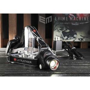 在庫有り LEDLENSER 充電式LEDヘッドライト 1000lm レッドレンザー H14R.2 7299-R|ehimemachine