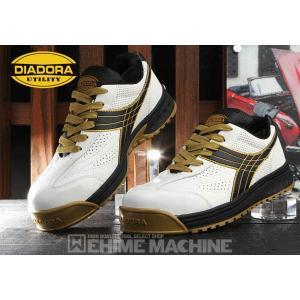 DIADORA ディアドラ 安全靴 [PEACOCK ピーコック] スニーカー安全靴  ホワイト×ブラック PC-12 ehimemachine